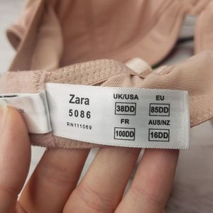 Panache Superbra Zara Plunge Padded Multiway Bra Nude Beige 5086 Size 36D NEW